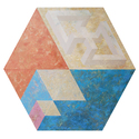 Geometric Abstract Rhombus (60 x 60)
